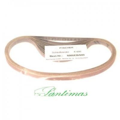 Sandpaper belt